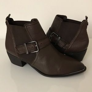Circus by Sam Edelman Leather Ankle Boots Size 8 M